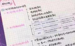 武汉仁和会计推荐女学霸的注册会计师笔记方法